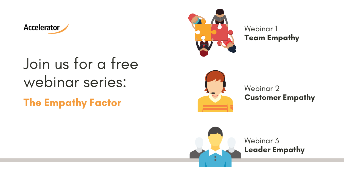 The Empathy Factor Webinar Series - Free Registration