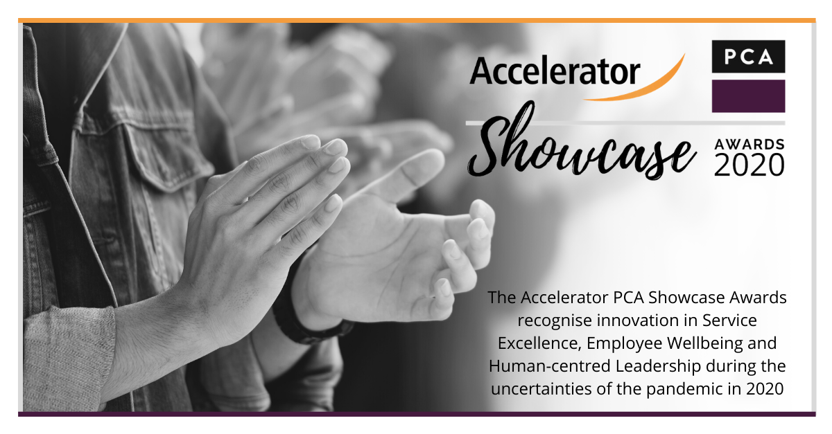 Accelerator and PCA announce Showcase Awards 2020 winners