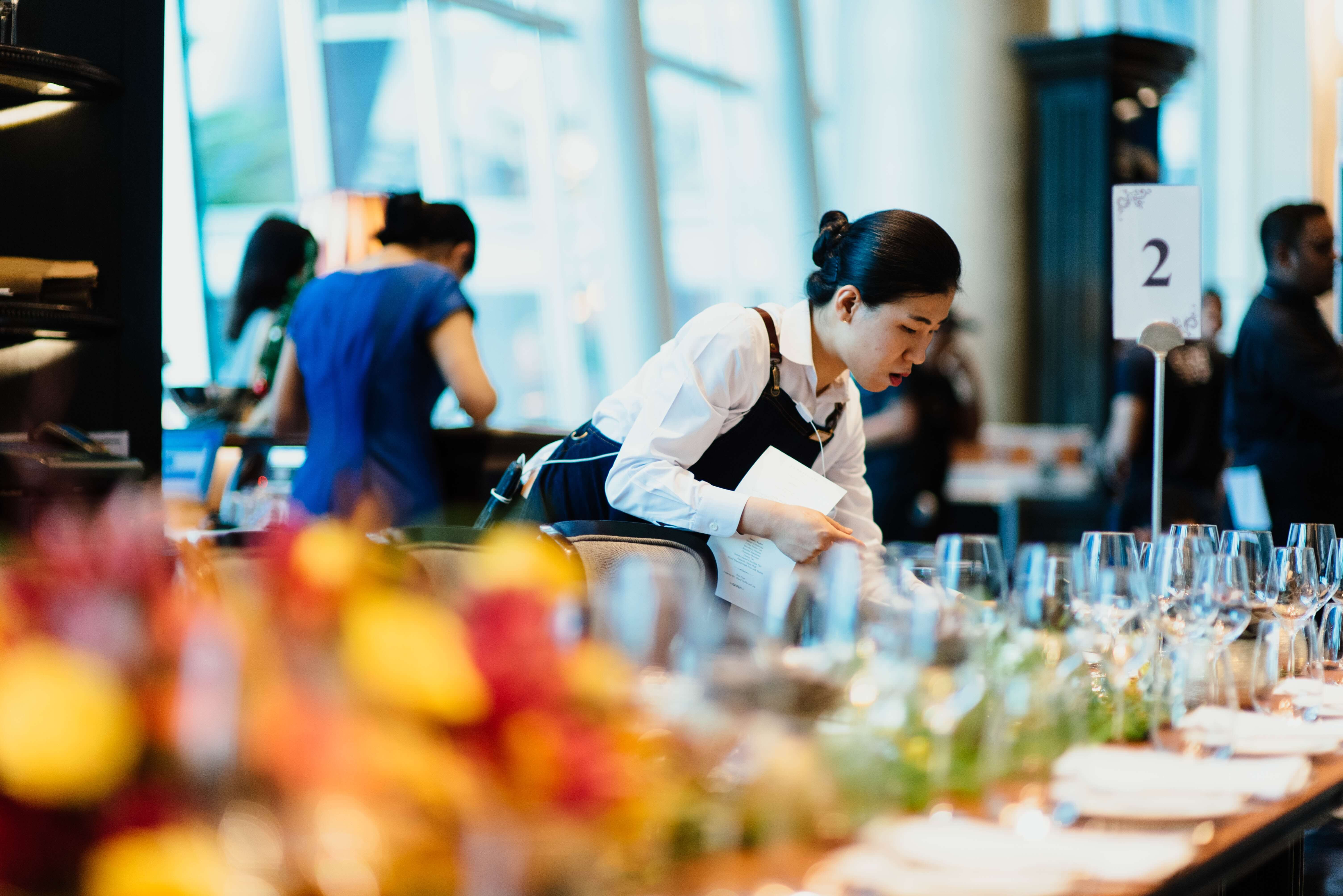 Customer service training for the hospitality industry